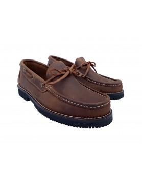 Zapato Comanche Lazos Moka